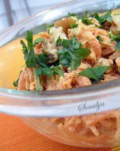 Морковный салат с грецким орехом по-турецки - Голая Еда