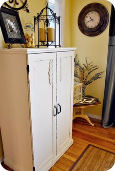 Shabby Chic Armoire