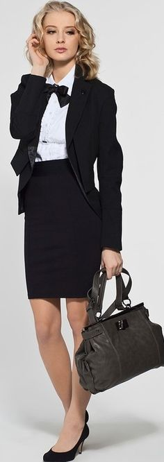 Office chic ♥✤ | Keep the Glamour | BeStayBeautiful --- of only i still had the body to rock this. siiggh.