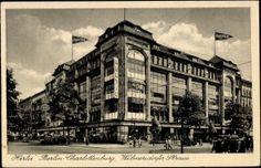 Ansichtskarte / Postkarte Berlin Charlottenburg, Warenhaus Hertie in der Wilmersdorfer Straße