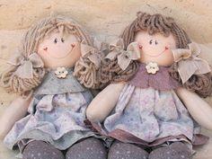 LaPe Country Designs: Tutorial - Come Realizzare i Capelli per una Bambola di Pezza.