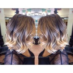 Balayage Ombre Short Hair