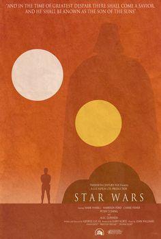 Star Wars Minimalist Poster Art Print