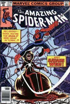 The Amazing Spider-Man #210 Enter Madame Web!