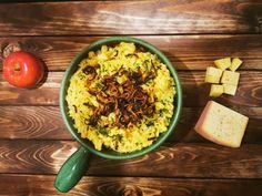Käspätzle aus Vorarlberg Grains, Rice, Ethnic Recipes, Food, Chef Recipes, Cooking, Essen, Meals, Seeds