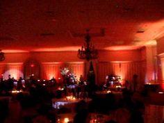 Plazzo Grande @ Shelby Twp Michigan wedding lighting for 400 person reception