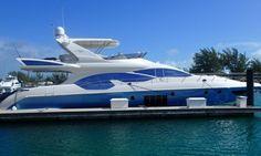 70' Azimut  Miami yacht charter