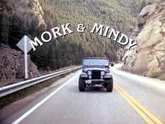 Mork & Mindy~ Robin Williams and Pam Dawber~ 1978-1982