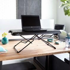 Standing Desk VARIDESK - lower when sitting, raise when standing - easy! Need this.