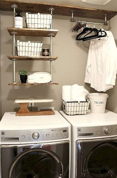 Best Inspire Laundry Room Organization Ideas (13)