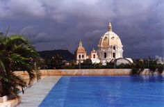 Una hermosa vista de #Cartagena #Colombia