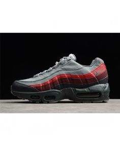 Nike Air Max 95 Essential Anthracite Cool Grey Running Shoes Air Max 95, Air Max Sneakers, Sneakers Nike, Nike Max, Red Shoes, Shoe Sale, Shoes Online, Cleats, Running Shoes