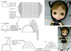 Watch This Video Incredible Crochet a Bear Ideas. Cutest Crochet a Bear Ideas. Crochet Doll Dress, Crochet Barbie Clothes, Knitted Dolls, Doll Dress Patterns, Doll Sewing Patterns, Sewing Toys, Crochet Baby Boots, Cute Crochet, Monster High Doll Clothes