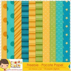 Freebie - Pacote papéis 01