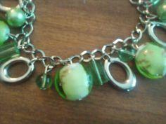 Green Beaded Bracelet !!