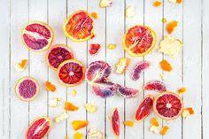 #Fresh #Organic Blood #Orange Group by Suzanne Clements http://www.stocksy.com/16061  #bloodorange #citrus