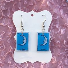 Funky Earrings, Funky Jewelry, Ear Jewelry, Diy Earrings, Cute Jewelry, Jewelry Crafts, Handmade Jewelry, Jewelry Ideas, Jewellery