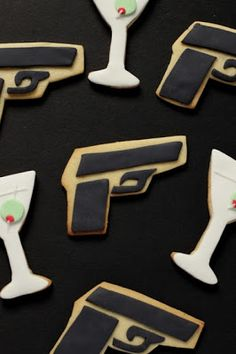 midnight cookies james bond theme parties - Google Search