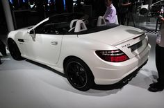 Самый маленький родстер Mercedes-Benz SLK55 AMG с пламенным сердцем