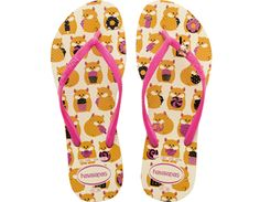 Havaianas Slim Pets Sandals in Hamsters Design