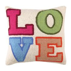 I pinned this Love In Color Pillow from the Pillow Talk event at Joss and Main!