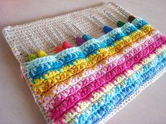 Oh Milly!: Crochet hook case