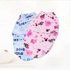 Flannel swaddle wrap sleeping bag $4.89 from Aliexpress