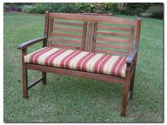 Outdoor Wooden Bench Cushion