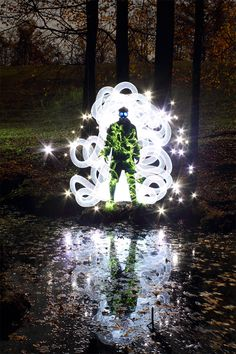 Light Paintings by Dennis Calvert