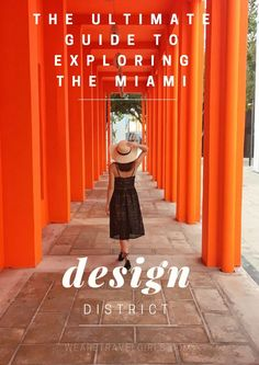 Miami is full of things to do, but have you considered visiting the design district? Here we share the ultimate guide to exploring Miami's Design District. South Beach Miami, South Florida, Miami Florida, Florida Travel, Travel Usa, Miami Architecture, Orlando, Weekend In Miami, World Travel Guide