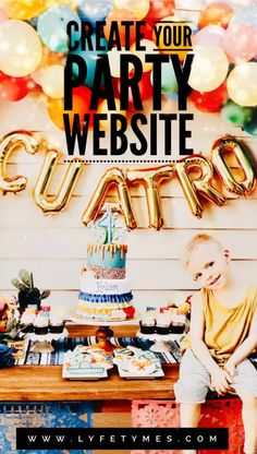 Plan Your Party with Your All-In-One Free Party Planner Boys First Birthday Party Ideas, Wild One Birthday Party, Lego Birthday Party, Baby First Birthday, Boy Birthday Parties, Free Party Invitations, Party Planning Checklist, Football Birthday, Party Food And Drinks