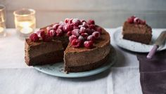 Mary Berry's rich, indulgent dessert is fit for a celebration and makes a stunning centrepiece.   Equipment and preparation: for this recipe you will need a 20cm/8in round springform cake tin.