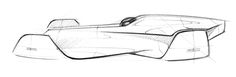 Bugatti Coupémotion - Master Thesis on Behance Car Design Sketch, Car Sketch, Bugatti Veyron, Supercars, Industrial Design Sketch, Flying Car, Automotive Design, Auto Design, Cool Sketches