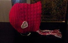 Crochet Hood Bonnet free pattern by Dearest Debi