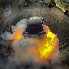 Light 'em up!! #burnout #hoonigan #hooning #fire #horsepower #jj #instagood #igers #love #carporn #photooftheday #jdm #xsauto #bornauto #xenonsupply