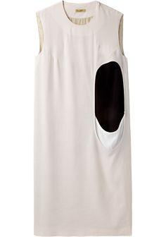 // Peter Jensen / Cut-Out Tunic Dress