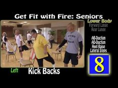 (4) Get Fit with Fire - Seniors Level 3 - YouTube