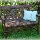 Ana White | Build a Woven Back Bench | Free and Easy DIY Project and Furniture Plans