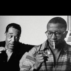 Duke Ellington (left) and Billy Strayhorn.