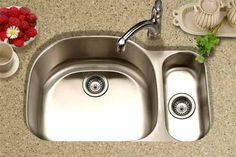 Since it's not a full double sink, that means less room to stack dishes, so my kitchen will be cleaner, right?