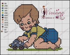 Viviane Pontos e Art's: Gráfico bebe brincando com carrinho                                                                                                                                                                                 Mais