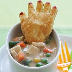 Chicken Potpie with Crawling Hands