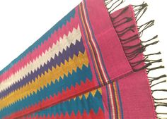 All new Dhaka Table Runner by JeevanKala. Handmade in the highlands of Ilam in far eastern Nepal.