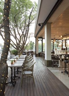 Life Grand Cafe (Pretoria) - Restaurant in Pretoria - EatOut Pretoria, Restaurant Design, Places To Eat, South Africa, Deck, African, Stylish, City, Interior