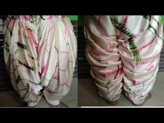 Full Heavy Patiala salwar cutting and stitching Patiala Pants, Patiala Dress, Patiala Salwar, Sleeves Designs For Dresses, Dress Neck Designs, Salwar Designs, Kurti Designs Party Wear, Baby Girl Dress Patterns, Dress Sewing Patterns