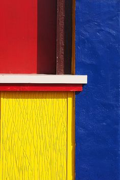 Primary colours. Contrasting colour inspiration. Colourful buildings. Colourful details.