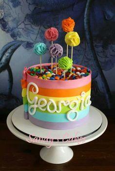 Rainbown   cake