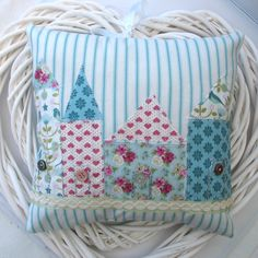 Little Houses Accent Cushion £14.95
