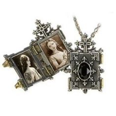 Orthodox Icon Locket with chain Holds 2 Photos ** For more information, visit image link. (This is an affiliate link) #WomensJewelry