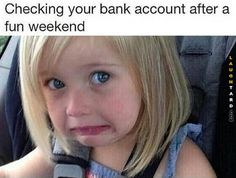 Checking your bank account